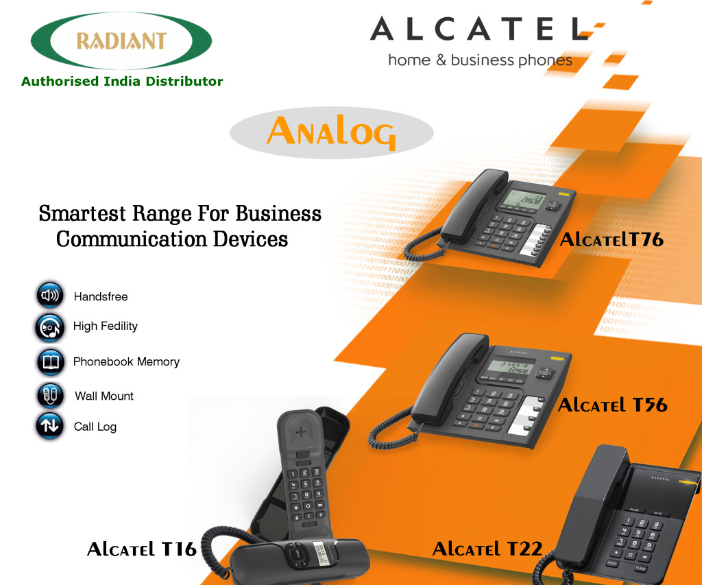 analog alcatel