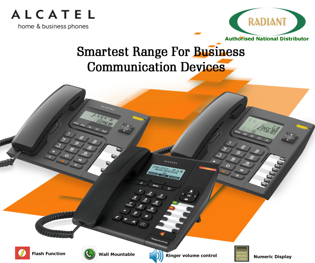 Business Phones- Alcatel- Radiant Info Solutions