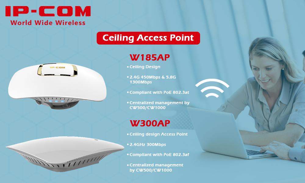W185AP - W300AP- IP-COM- Radiant Info Solutions