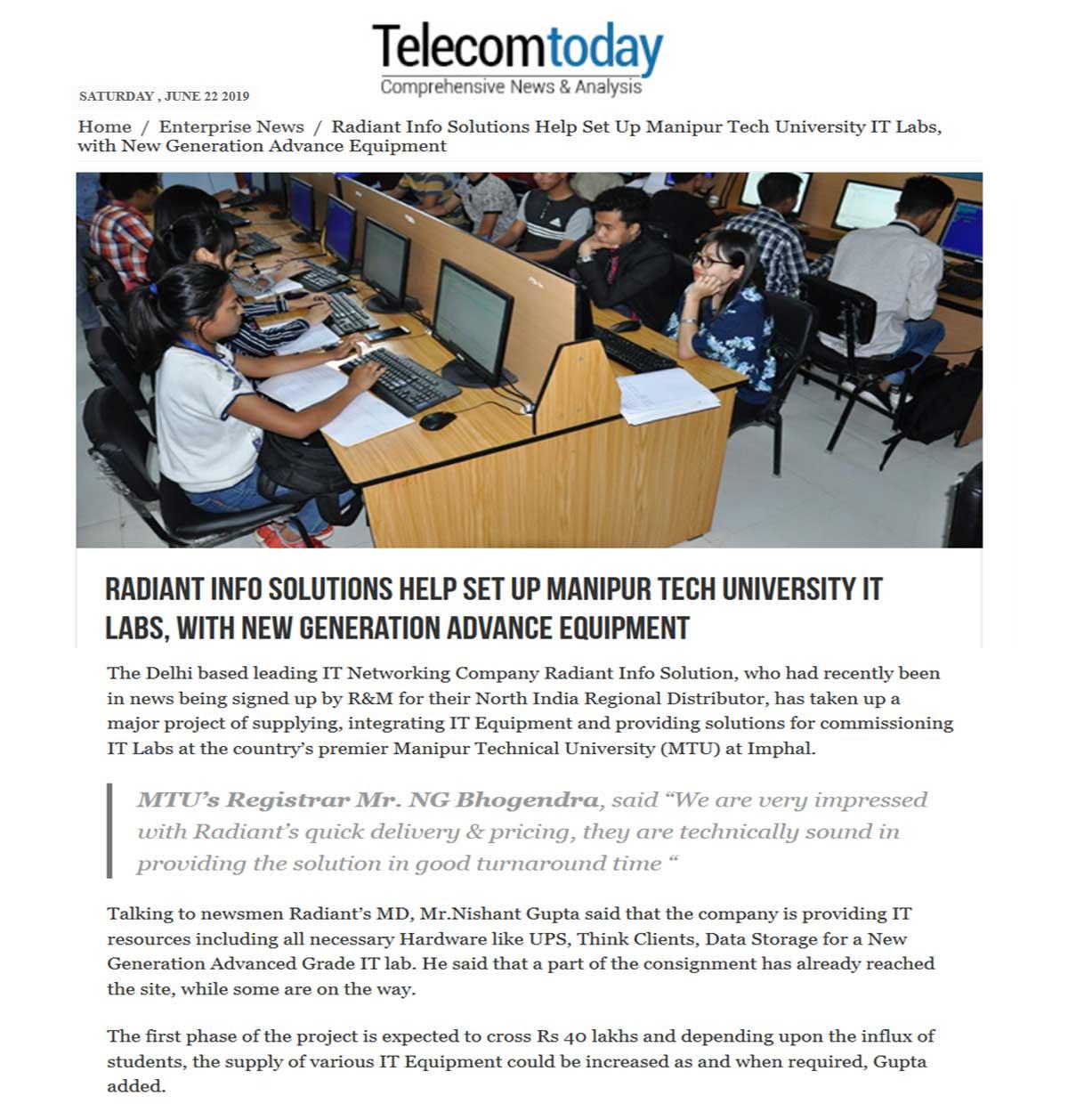 Telecom Today