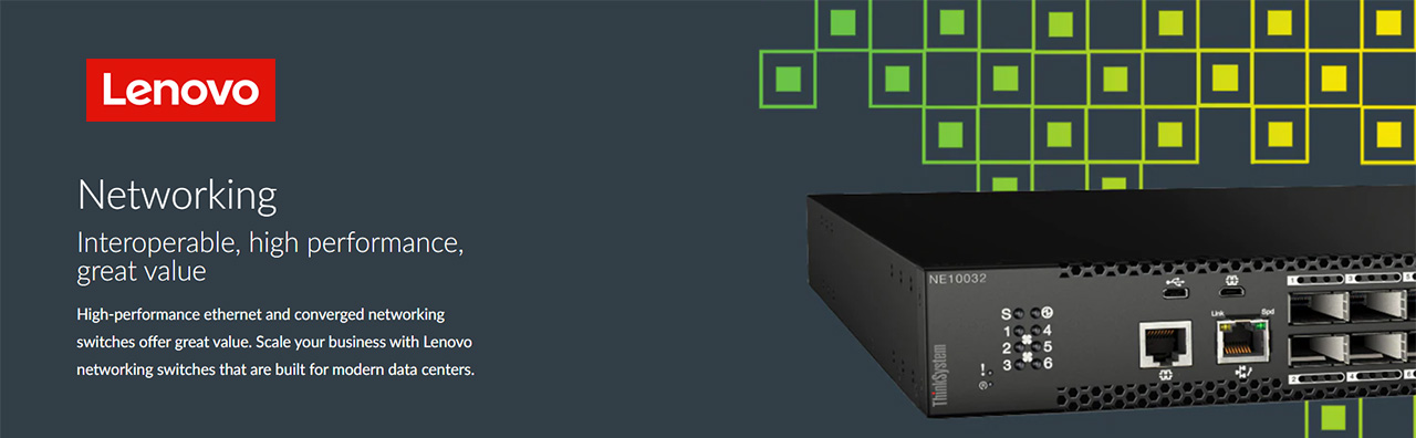 Lenovo Networking Product & Solutions